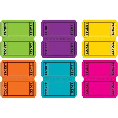 Bright Colors Tickets Mini Accents Teacher Created Resources TCR5794