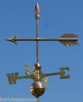"Copper   ""arrow "" Weathervane  Made In Usa #385"