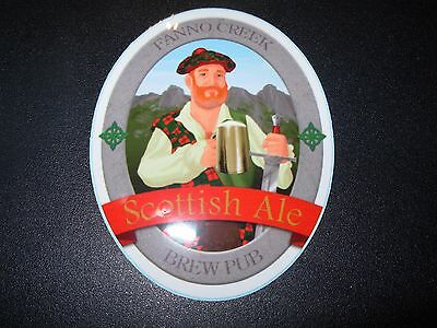 MAX'S FANNO CREEK Scottish Ale STICKER label decal craft beer brewery brewing