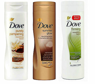 Dove Body Lotion 250ml Moisturiser Skin
