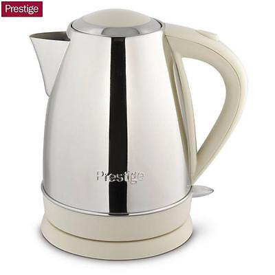 Prestige Stainless Steel Cordless Kettle 1.7 Litre Tea Coffee Kitchen Home New