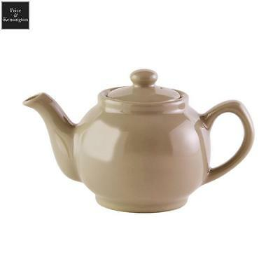 Price And Kensington Teapot Gloss Taupe 6 Cup Tea Coffee Serveware Kitchen New