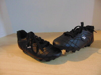Soccer Shoes Cleats Children's Size 10 Rucanor  Black