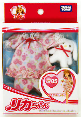 Takara Tomy Licca Doll Frilled Pajamas  doll not included  (834168)