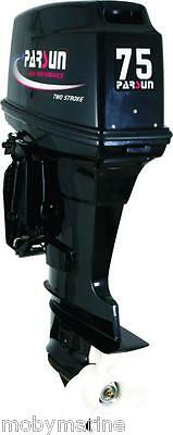 Outboard Motor New 75hp Parsun,Longshaft,Trim Tilt, 2 Year W/anty, Japanese Tech