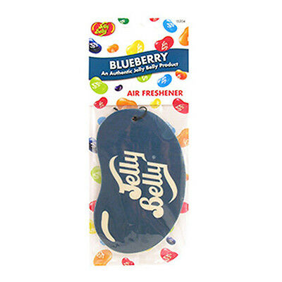 Jelly Belly 2D Car Air Freshener - Blueberry Flavour - Air Freshner New
