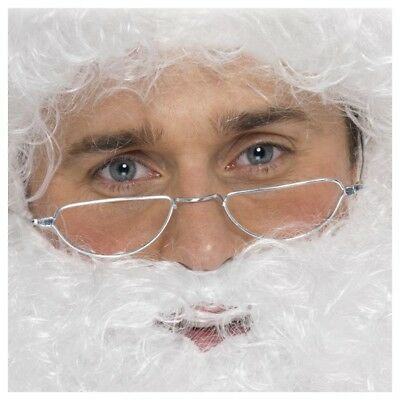 Santa Half Moon Specs Costume Accessory Adult Christmas