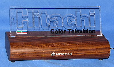 Hitachi Color Television Promotional Display Light----Working Looks Great!!!!