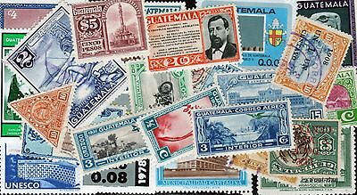 Guatemala Stamp Collection -- 600 Different -- Top Quality