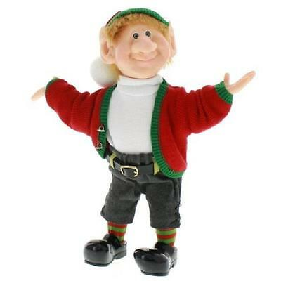 The Elves Themselves Harvey Elf Resin Doll Zim's Whitehurst Company #20036
