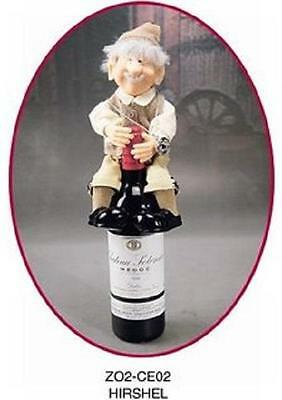 The Elves Themselves Hirschel Hirshel Wine Cellar Elf Resin Doll Zims Whitehurst