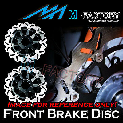 For SUZUKI GSX-R 1100 1989 1990 91-00 S/S 420 Front Race Brake Disc Rotor 2pcs