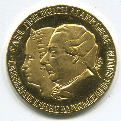 1967 Germany Gold Medal. Founders of Jewelry Watch Industry. 1+ Oz. of Gold!