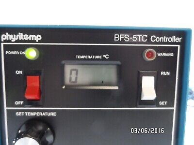 Physitemp BFS-5TC Microtome Freezing Stage Temperature Controller BFS-TC