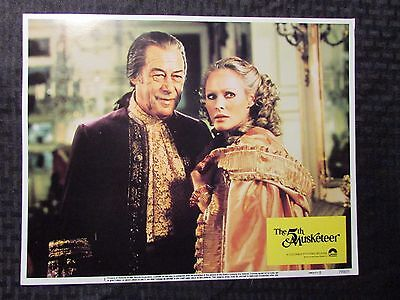 "1979 THE 5TH MUSKETEER 14x11"" Lobby Card #1 FVF Sylvia Kristel, Ursula Andress"