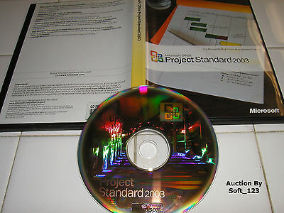 Microsoft Office Project 2003 Standard Full English Version MS =RETAIL BOX=