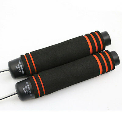 Aerobic Exercise Boxing Skipping Jump Rope Adjustable Bearing Speed Fitness X84