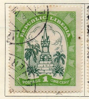 Liberia 1923 Early Issue Fine Used 1c. 050406