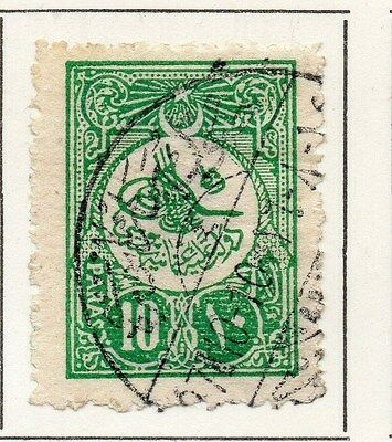 Turkey 1909-11 Early Issue Fine Used 10p. 049437