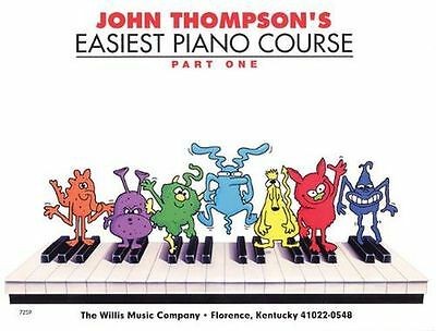 John Thompson's Easiest Piano Course - Part 1 - Book Only: (PB) - 0877180121