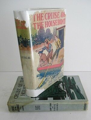 THE CRUISE OF THE HOUSEBOAT by Lawrence J Leslie, 1920s in DJ, Campfire & Trail