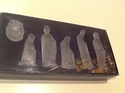 Nativity Set, For The Magic Of Christmas, Roman Innovation, 6-Pc. Frosted Glass