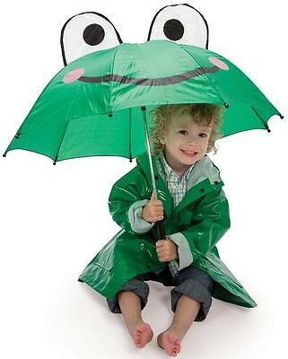 Children's Frog Umbrella for Boys & Girls Adorable!