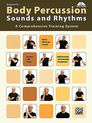 Body Percussion: Sounds And Rhythms - Percussion Method Book/dvd 20158Us