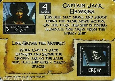 Pirates Of The Spanish Main - Pc004 Cpt.jack Hawkins/pirate Shipwright