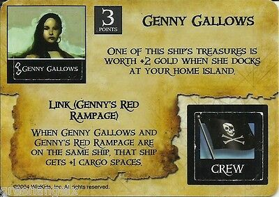 Pirates Of The Spanish Main - Pc005 Genny Gallows/pirate Shipwright