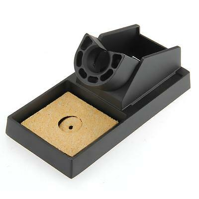 Metal Stand Holder Support Station Base Sponge for Electric Soldering Iron
