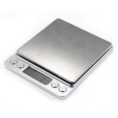 Pocket Electronic LCD Digital Balance Weight Scale 500gx0.01g Blue Backlight