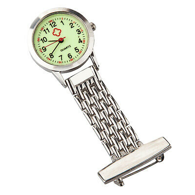 TRIXES Glow in the Dark Nurses Silver Quartz Watch