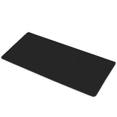 Black XXL Gamers Non-Slip Gaming Mouse Mat  - By TRIXES