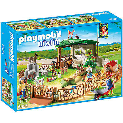 Playmobil Children's Petting Zoo NEW