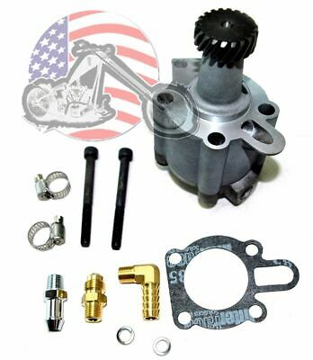 Replacement OEM Cast Oil Pump Assembly Assembled Harley Sportster 1991-2018 XLH