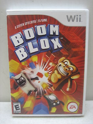 Nintendo Wii Boom Blox Game Complete & Tested
