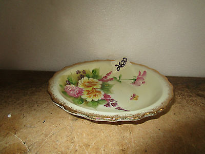 Antique Serving Plate and Bowl Glass SL7642