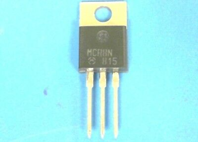 10 - MOTOROLA MCR8N 800 V 8 A RMS SILICON CONTROLLED RECTIFIER  SCR  SCRs - NOS