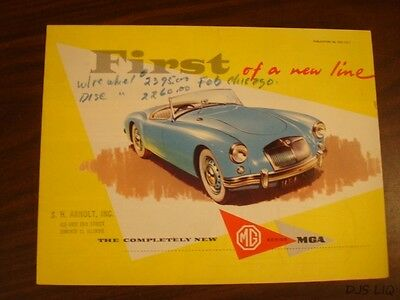 Mg Mga  Brochure Manual Catalog Cf2033