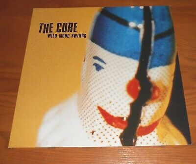 The Cure Wild Mood Swings 2-Sided Flat Square 1996 Promo Poster 12x12