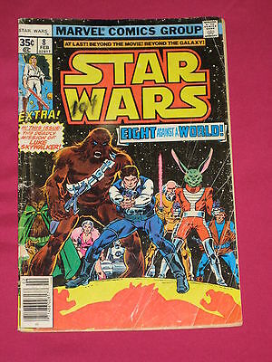 Star Wars #8 Marvel Comics 1978 Bagged & Boarded