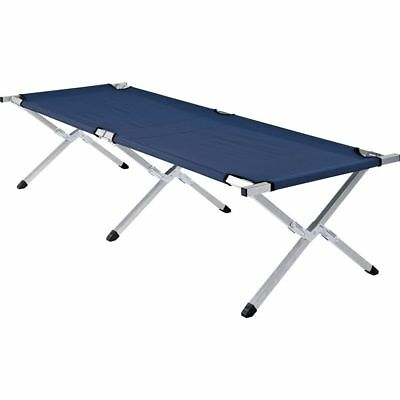 Steel Framed Folding Single Camping Bed - Free 90 Day Guarantee