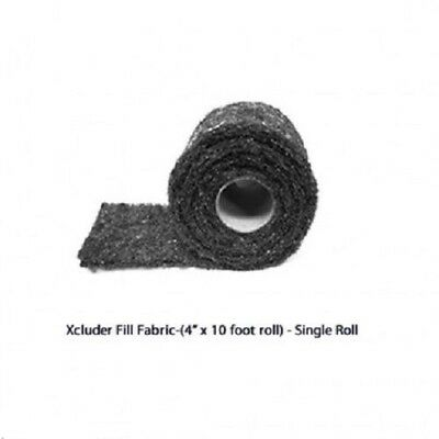 "Xcluder Pest Exclusion Mesh 4"" x 10' Roll 162707"
