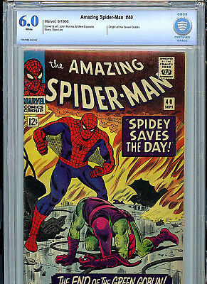 Amazing Spider-man #40 Silver Age Marvel Comics CBCS 6.0 FN 1966