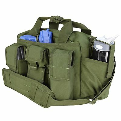Condor #136 Tactical Response Police SWAT Duty Range Bail Bug Out Bag OD Green