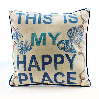 This Is My Hy Place Decorative Throw Pillow Nautical