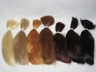 Assorted Colors of Mohair for Reborns!  7 Straight 1/4 ounce packages