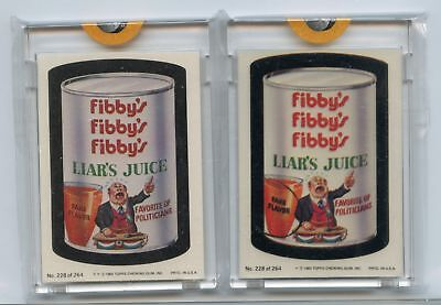 1980 Topps Wacky Packages Proof & Acetate Set #228
