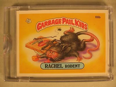 1985 Topps Garbage Pail Kids Series 2 Proof #66B Rachel